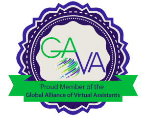 Member of the Global Alliance of Virtual Assistants